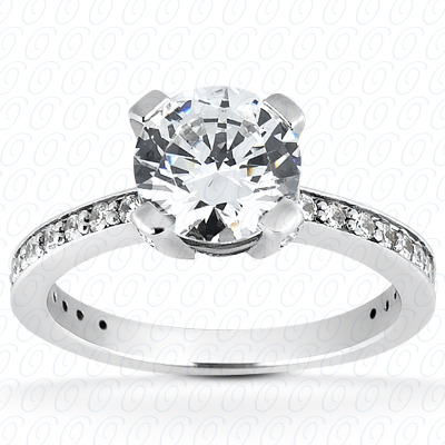 14KP Fancy 0.39 CT. Engagement Rings