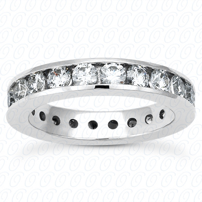14KP  Round Cut Diamond Unique <br>Engagement Ring 2.00 CT. Eternity Wedding Bands Style