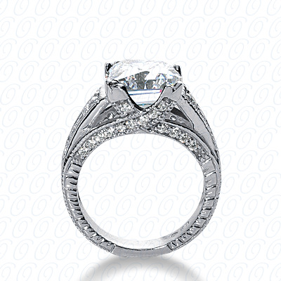 14KP Fancy Cut Diamond Unique <br>Engagement Ring 0.56 CT. Engagement Rings Style