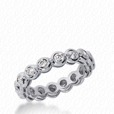 14KW Oval Cut Diamond Unique Engagement Ring 1.37 CT. Wedding Bands Style