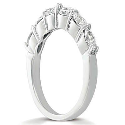 14KW Marquise Cut Diamond Unique Engagement Ring 0.84 CT. Wedding Bands Style
