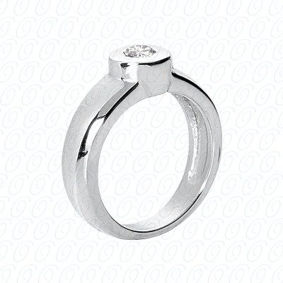 14KP Fancy Rings Cut Diamond Unique <br>Engagement Ring 0.25 CT. Fancy Rings Style