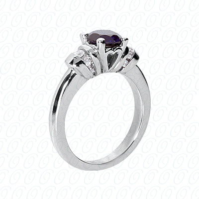 14KP Fancy Rings Cut Diamond Unique <br>Engagement Ring 0.18 CT. Fancy Rings Style