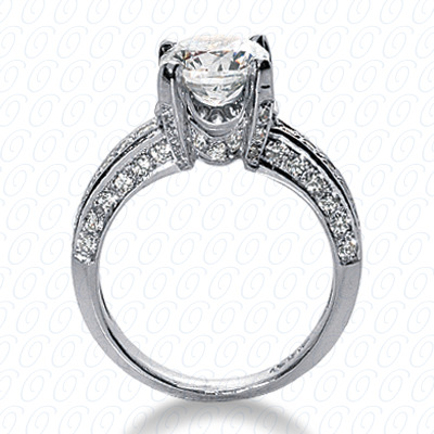 14KW Fancy Cut Diamond Unique Engagement Ring 0.73 CT. Engagement Rings Style