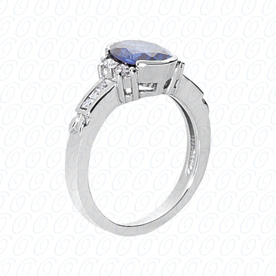 PLAT Fancy Rings 0.30 CT. Fancy Rings