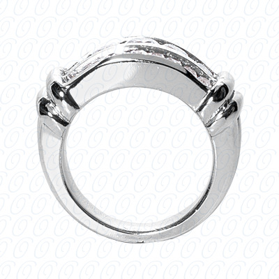 14KP Fancy Rings Cut Diamond Unique <br>Engagement Ring 1.55 CT. Fancy Rings Style