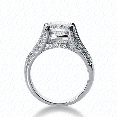 14KP Fancy Cut Diamond Unique <br>Engagement Ring 0.31 CT. Engagement Rings Style