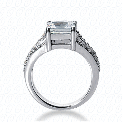 14KW Fancy Cut Diamond Unique Engagement Ring 0.55 CT. Engagement Rings Style