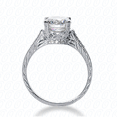 14KP Fancy Cut Diamond Unique <br>Engagement Ring 0.14 CT. Engagement Rings Style