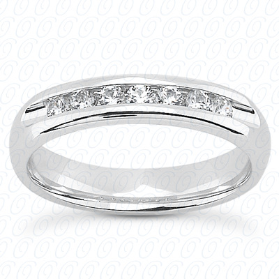 14KW Bar Set Cut Diamond Unique Engagement Ring 0.75 CT. Baguette Style