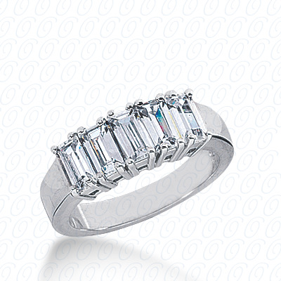 14KP Prong 2.10 CT. Baguette