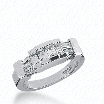 14KP Channel Set 0.86 CT. Baguette