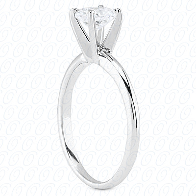 PLAT Cushion Cut Diamond Unique Engagement Ring