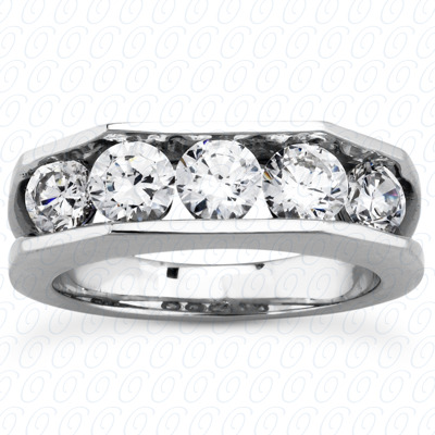 14KP Round Cut Diamond Unique <br>Engagement Ring 1.20 CT. Wedding Band Sets Style