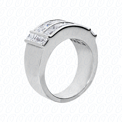 14KP Fancy Rings Cut Diamond Unique <br>Engagement Ring 2.72 CT. Fancy Rings Style