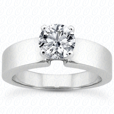 14KP Interchangeable Heads Cut Diamond Unique Engagement Ring