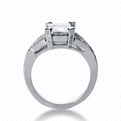 14KP Fancy Cut Diamond Unique <br>Engagement Ring 0.25 CT. Engagement Rings Style
