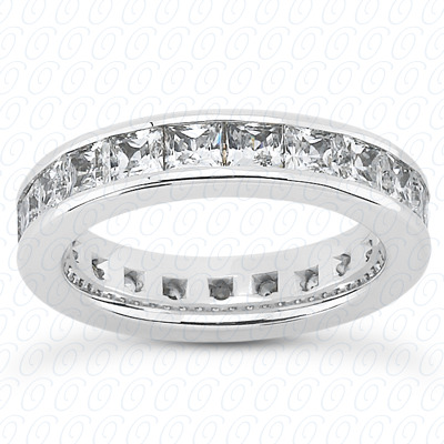 14KP Plain Cut Diamond Unique Engagement Ring 3.57 CT.