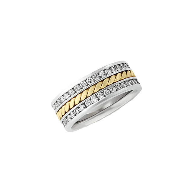 Hand-woven Two-Tone Band