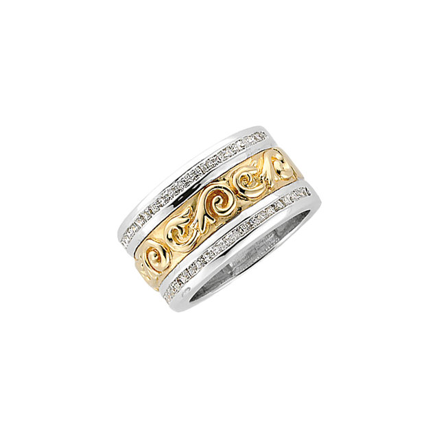 Etruscan-Style Anniversary Band