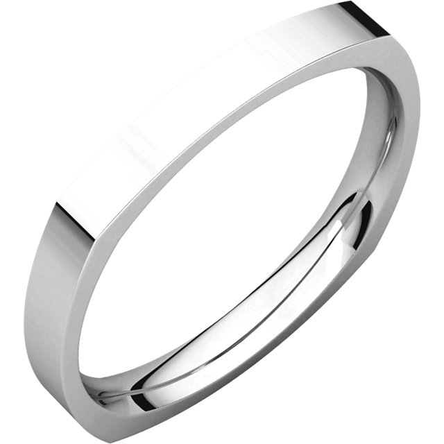 Square Comfort Fit Band