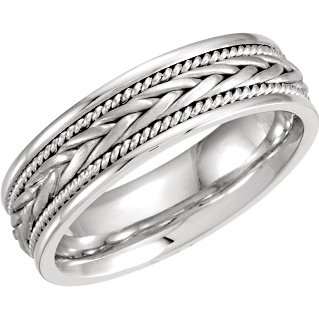 Comfort-Fit Hand-Woven Band