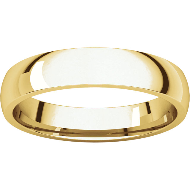 24K 6mm Light Comfort Fit Band